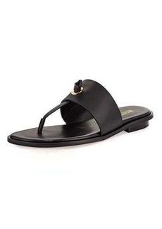 MICHAEL Michael Kors Cindy Vachetta Flat Slide Sandal