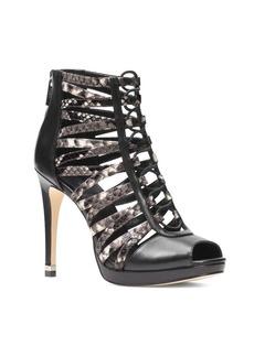 MICHAEL MICHAEL KORS Clarissa Leather Platform Booties