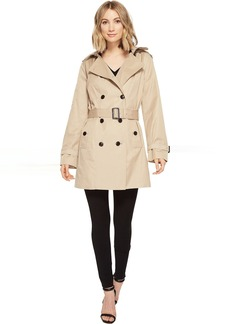 MICHAEL Michael Kors Classic Double Breasted Trench w/ Hood M722081R74