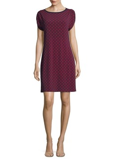 MICHAEL Michael Kors Classic Geometric-Print Dress
