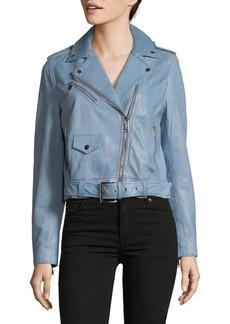 MICHAEL Michael Kors Classic Leather Jacket