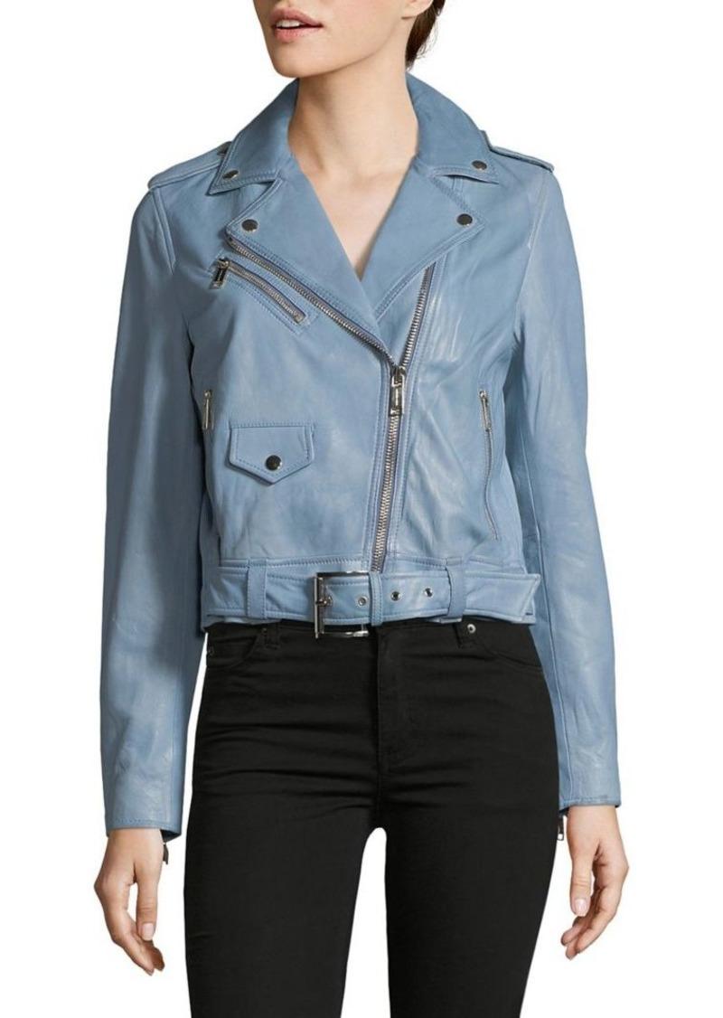 1f74cb41 MICHAEL Michael Kors MICHAEL Michael Kors Classic Leather Jacket ...