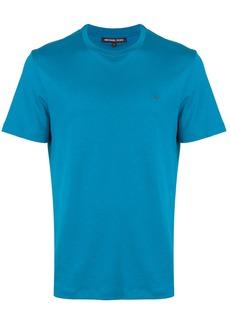 Michael Michael Kors classic short sleeve polo - Blue