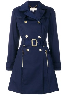 Michael Michael Kors classic trench coat - Blue