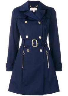 Michael Michael Kors classic trench coat - Blue