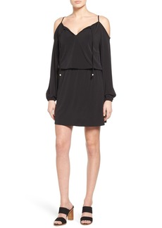 MICHAEL Michael Kors Cold Shoulder Blouson Dress