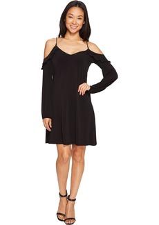 MICHAEL Michael Kors Cold Shoulder Chainstrap Dress