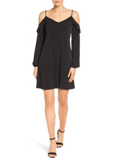MICHAEL Michael Kors Cold Shoulder Shift Dress (Regular & Petite)