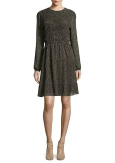 MICHAEL Michael Kors Cole Smock Dress