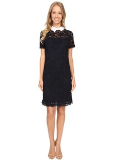 MICHAEL Michael Kors Collar Lace T-Shirt Dress