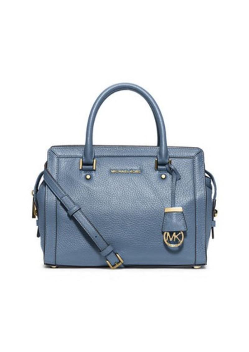 michael michael kors michael michael kors collins medium satchel bag handbags shop it to me. Black Bedroom Furniture Sets. Home Design Ideas