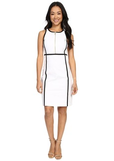 MICHAEL Michael Kors Contrast Binding Dress