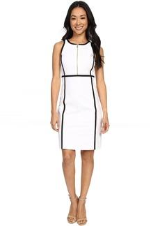MICHAEL Michael Kors Contrast Binding Dress