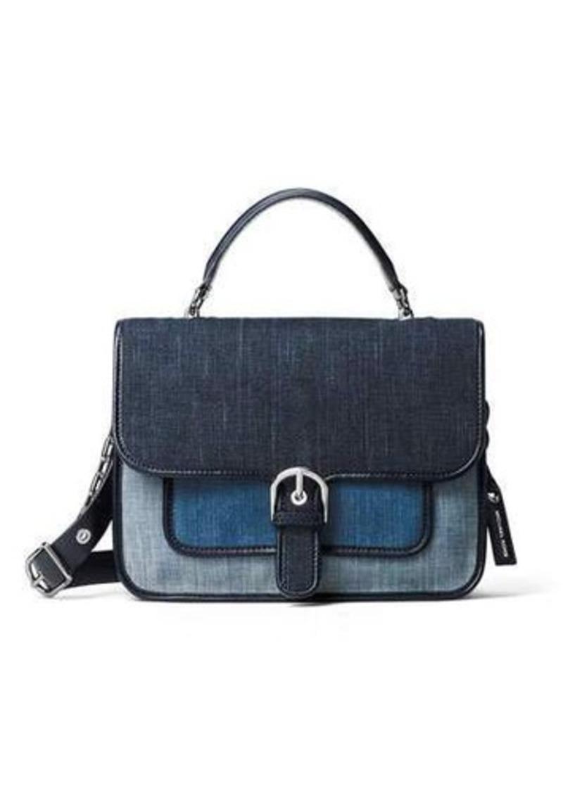 MICHAEL Michael Kors MICHAEL Michael Kors Cooper Large Denim School Satchel Bag | Handbags ...