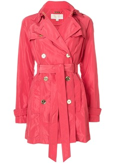 Michael Michael Kors coral fitted coat - Pink & Purple