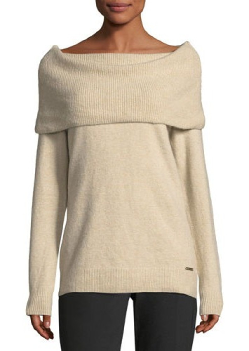 MICHAEL Michael Kors MICHAEL Michael Kors Cozy Cowl-Neck Sweater ...