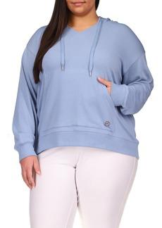 MICHAEL Michael Kors Cozy Sweatshirt (Plus Size)