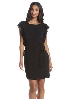 MICHAEL Michael Kors® Crepe Flounce Dress