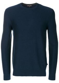 Michael Michael Kors crew neck jumper - Blue