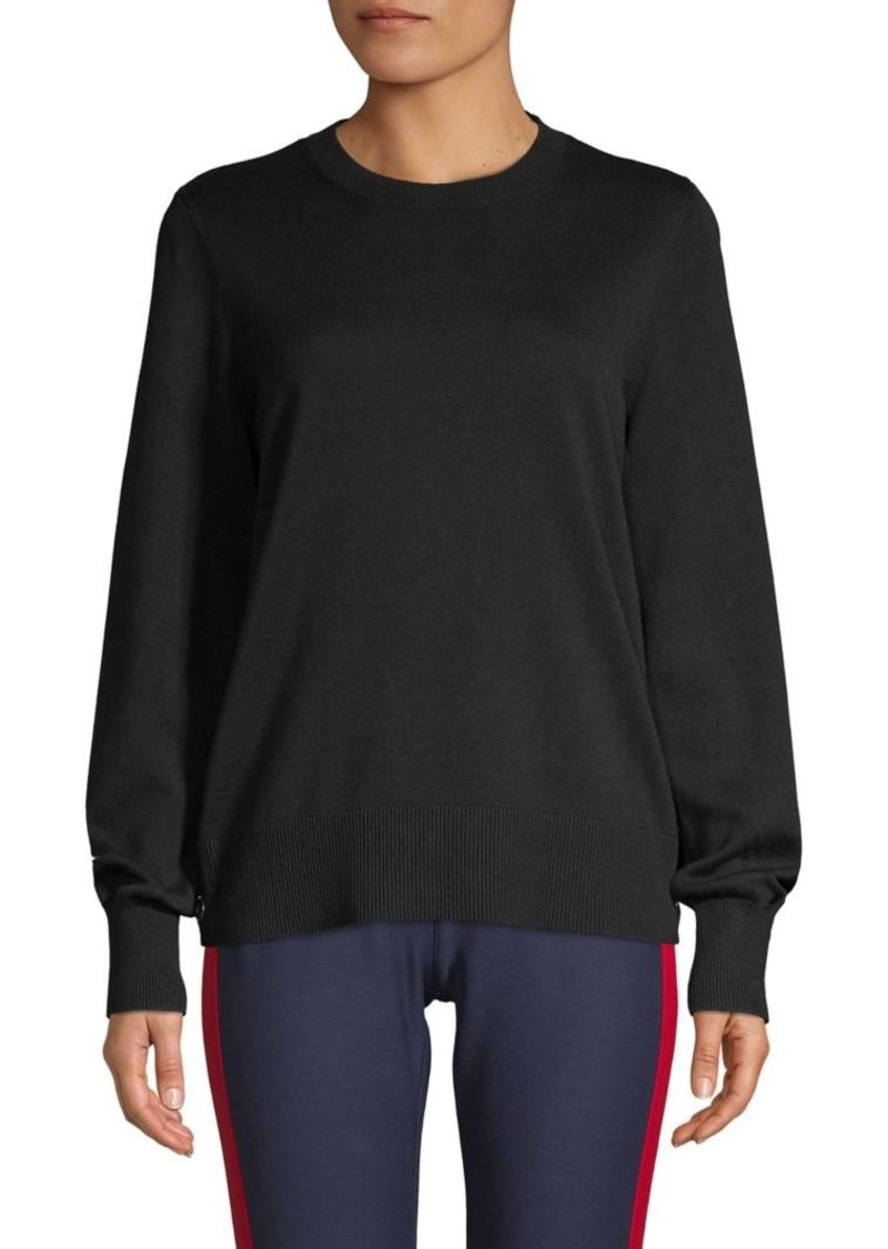 MICHAEL Michael Kors Crewneck Cotton-Blend Sweater