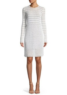 MICHAEL Michael Kors Crochet Knit Sweater Dress