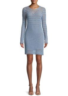 Crochet Sweater Dress