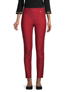 MICHAEL Michael Kors Cropped Cotton-Blend Pants