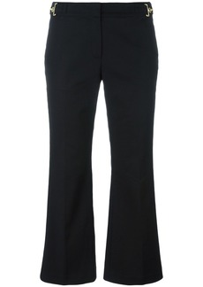 Michael Michael Kors cropped flared trousers - Black