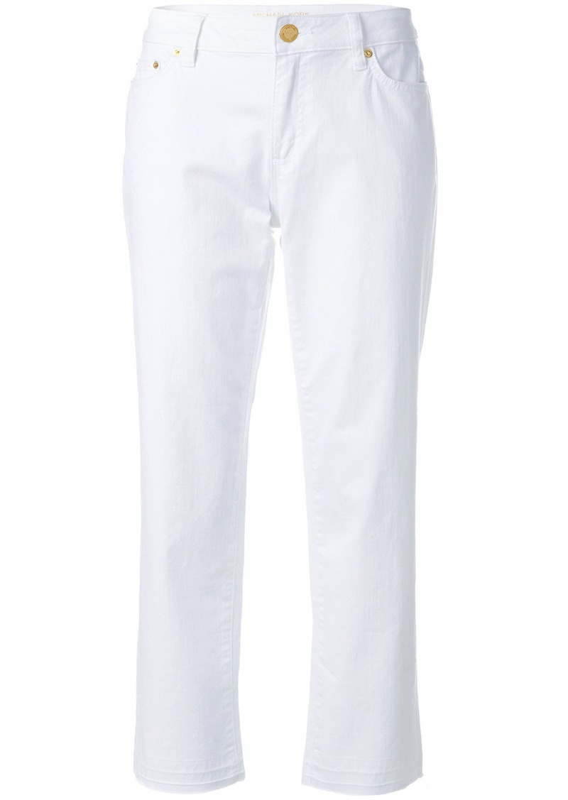 MICHAEL Michael Kors cropped mid-rise jeans