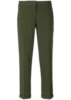 Michael Michael Kors cropped tailored trousers - Green