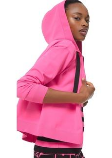 MICHAEL Michael Kors Cropped Zip Hoodie