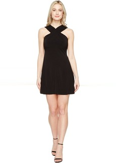 MICHAEL Michael Kors Cross Neck Dress