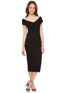 MICHAEL Michael Kors Crossover Neck Sleeveless Dress
