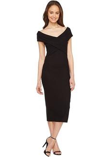 MICHAEL Michael Kors Crossover Neck Sleeveless Dress