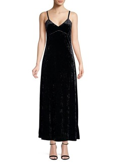 MICHAEL Michael Kors Crushed Velvet A-Line Dress