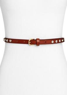 MICHAEL Michael Kors Crystal Studded Belt