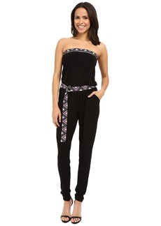 MICHAEL Michael Kors D Ring Border Jumpsuit