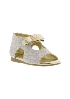 MICHAEL Michael Kors Dahna Logo Sandal (Baby)