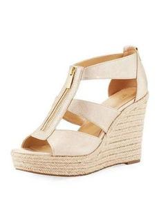 MICHAEL Michael Kors Damita Metallic Wedge Sandal