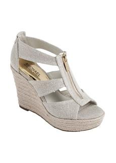 MICHAEL MICHAEL KORS Damita Wedge Platform Sandals