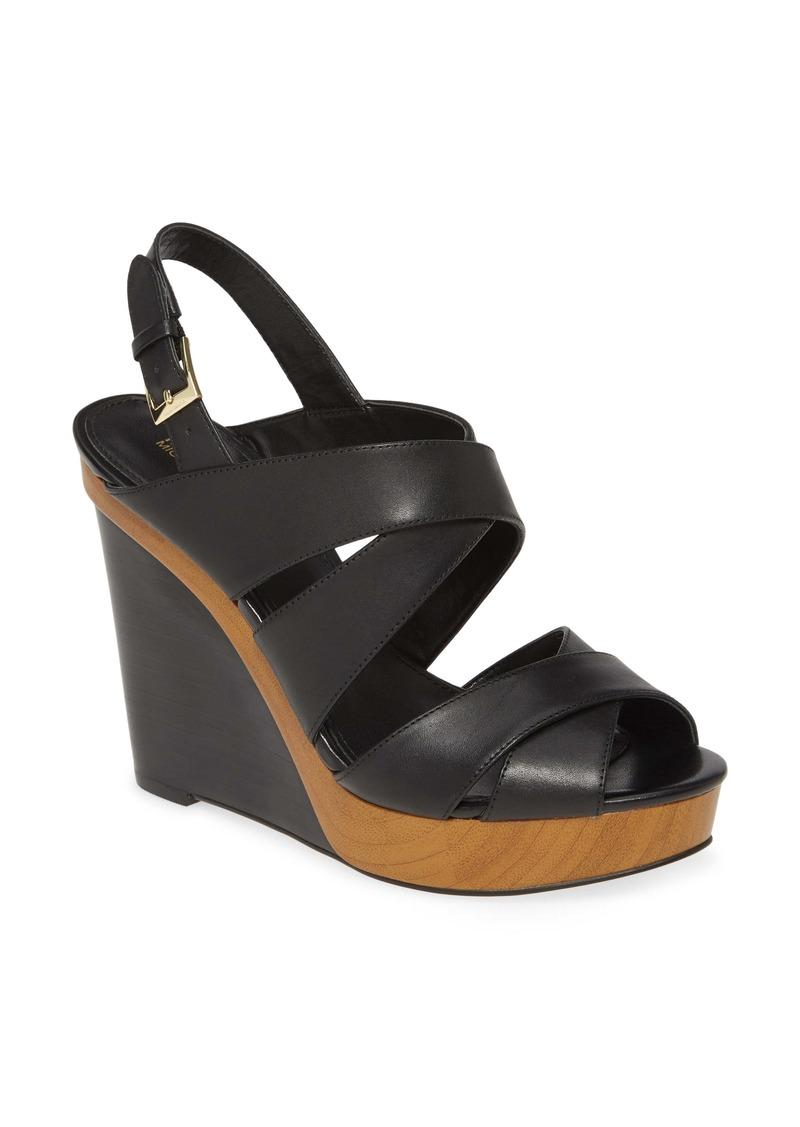MICHAEL Michael Kors Dana Wedge Sandal (Women)