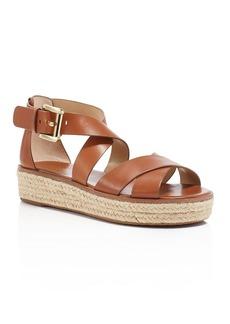 MICHAEL Michael Kors Darby Strappy Espadrille Platform Sandals