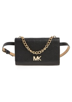 MICHAEL Michael Kors Deco M Quilted Leather Belt Bag