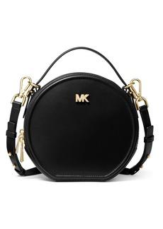 MICHAEL Michael Kors Delaney Medium Leather Circle Crossbody