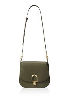 MICHAEL Michael Kors Delfina Large Leather Saddle Bag