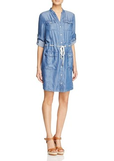 MICHAEL Michael Kors Denim Shirt Dress