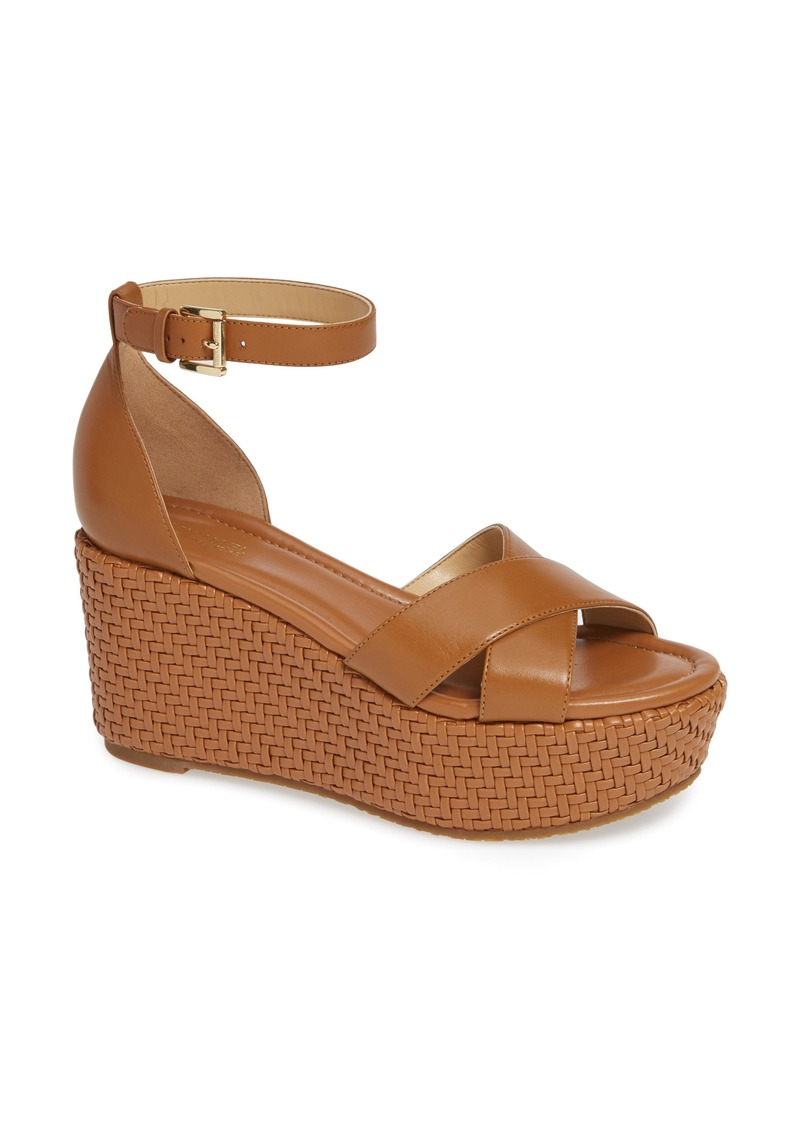 MICHAEL Michael Kors Desiree Basket Weave Wedge (Women)