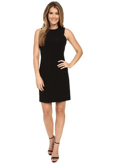 MICHAEL Michael Kors Detail Fitted Dress