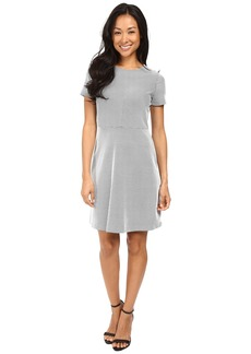 MICHAEL Michael Kors Digital Texture Fit and Flare Dress