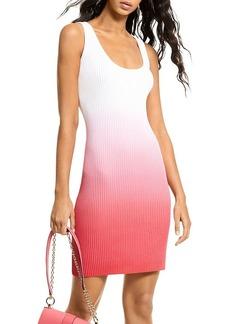 MICHAEL Michael Kors Dip Dyed Rib Tank Dress